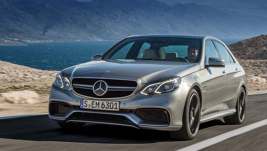 Автомобили Mercedes E 63 AMG обзавелись полным приводом