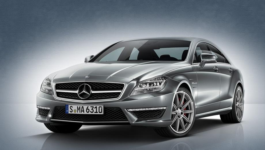 Mercedes cls amg. Базовый заднеприводный CLS 63 AMG потребляет в смешанном цикле 9,9 л бензина на 100 км, а полноприводная «эска» — 10,6 л.