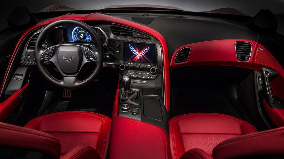 2014 Corvette Stingray Interior.