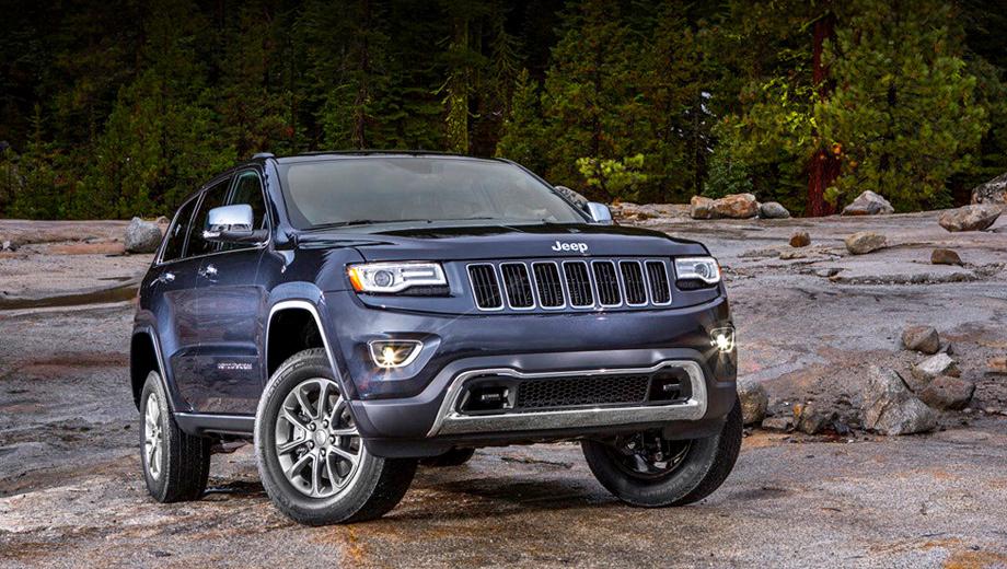 Jeep grand cherokee. Если не брать в расчёт версию SRT8, в Штатах линейка моторов Grand Cherokee будет состоять из трёх агрегатов: V6 3.6 (286 л.с.), V6 3.0 CRD (241) и V8 5.7 (352).