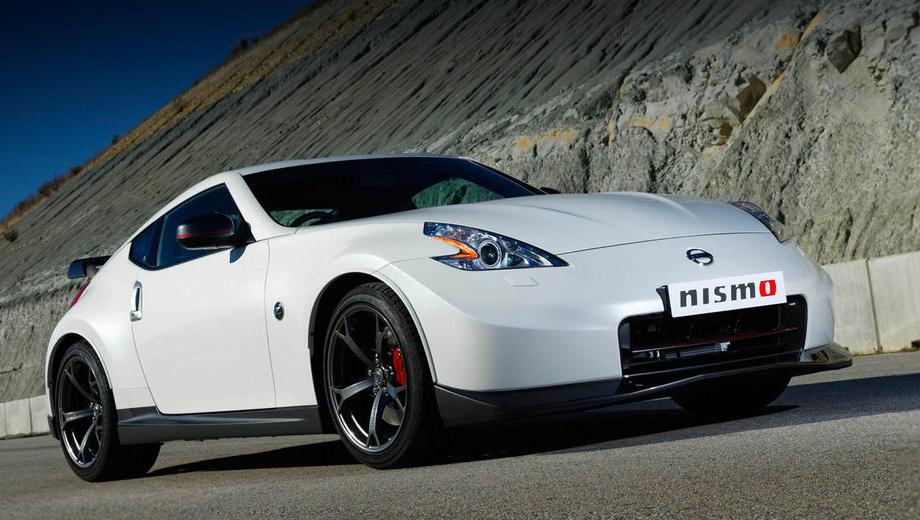 Nissan 370z,Nissan 370z nismo. Кроме технических доработок купе получило и аэродинамический обвес кузова.