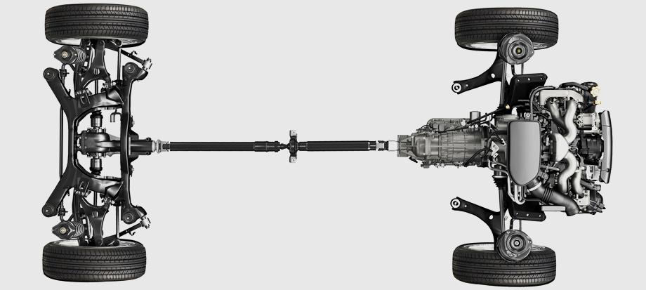 Схема подвесок со стойками