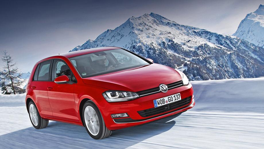 Volkswagen golf. Выпускаться полноприводник будет только в пятидверном кузове и в трёх уровнях комплектации (Trendline, Comfortline, Highline).