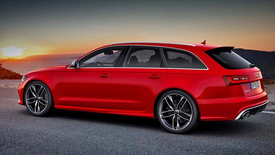 Audi rs6. По слухам, облегчённая конструкция и более мощный мотор позволят Audi RS6 Plus катапультироваться до сотни за 3,5 с.