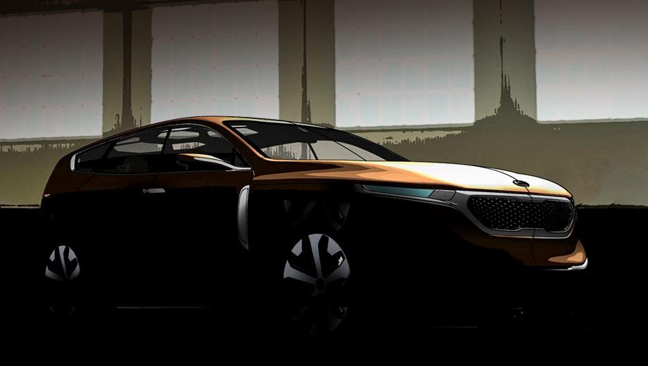 Kia crossover gt. Корейцы не слишком распространяются относительно параметров новичка, но отмечают, что он крупнее паркетника Sorento.