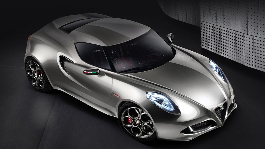 Alfaromeo 4c. Серийный вариант модели 4С ожидается в Женеве.