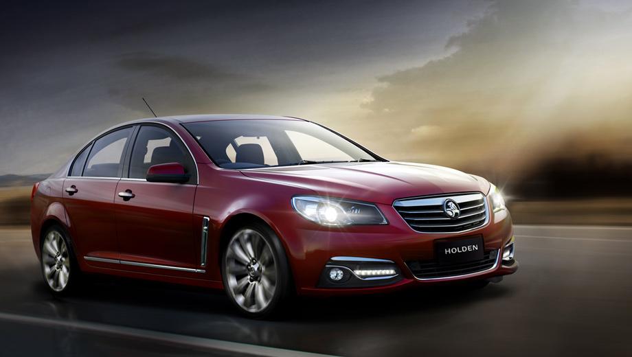 Holden commodore. Взгляните на этот автомобиль — скорее всего, серийный Chevrolet SS мало чем будет отличаться от него.