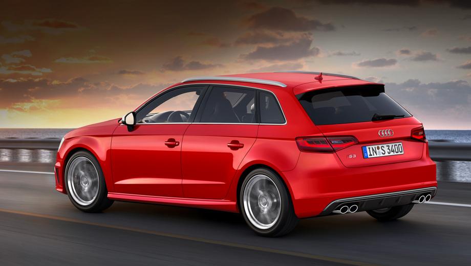Audi s3. На европейский рынок новинка попадёт в сентябре нынешнего года.