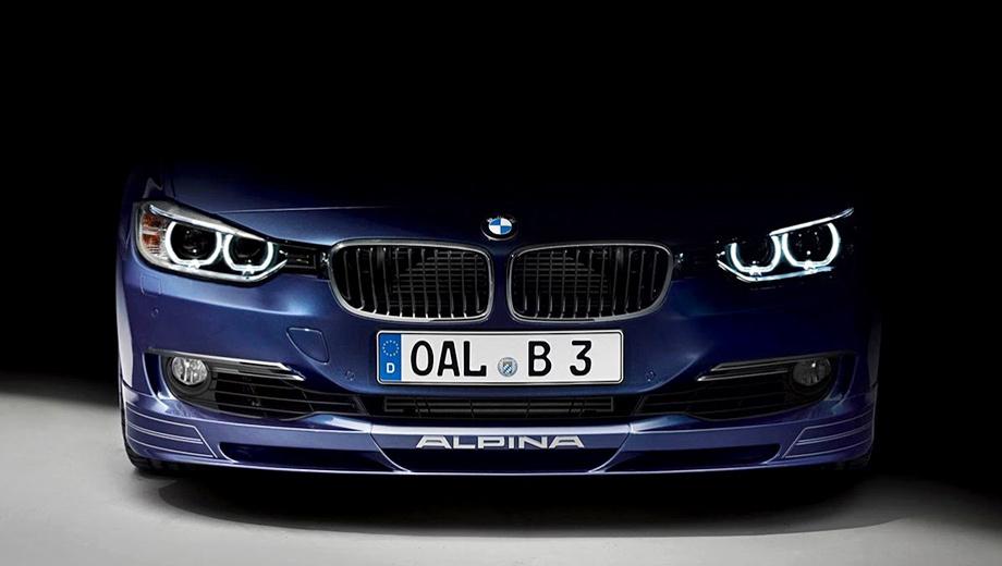 Bmw 3,Alpina b3. Пока это единственное официальное изображение новой «трёшки» Alpina.