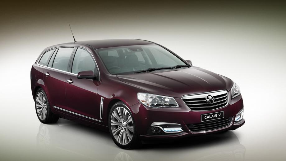 Holden commodore,Holden vf commodore,Holden vf sportwagon,Holden vf ute. Calais V — традиционное обозначение топовой версии модели Commodore с самым богатым оснащением и старшим мотором.