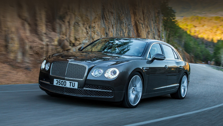 Bentley выпускает новый седан Flying Spur