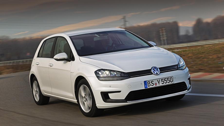 Volkswagen golf,Volkswagen e-golf. В продажу новинка, предположительно, должна поступить к концу текущего года. Но точная дата старта продаж и цена будет объявлена позже.