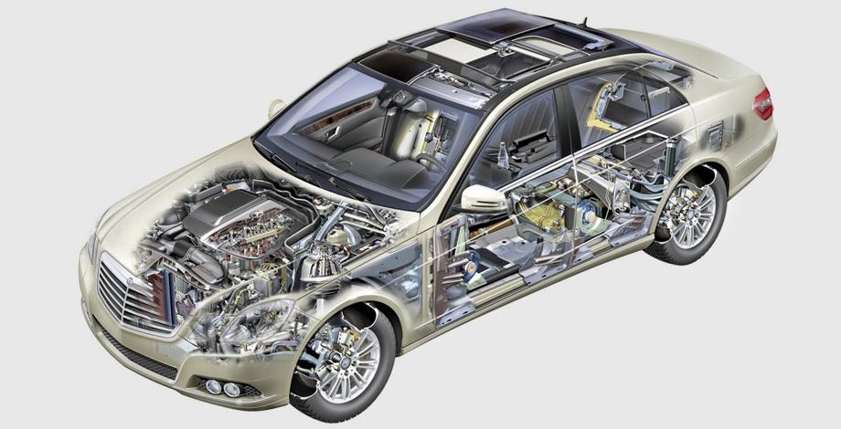 Нынешний Mercedes E-класса