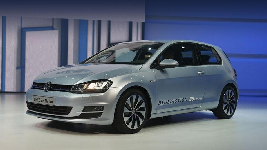 Volkswagen golf,Volkswagen golf bluemotion,Volkswagen golf plug in hybrid. Новый Golf BlueMotion по сравнению с предшественником сократил выброс углекислого газа на 14 граммов — до 85 г/км, а расход солярки — на 15%.