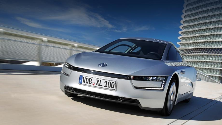 Volkswagen xl1. Паспортный показатель выбросов углекислого газа в 21 г/км, кажется, превзойти может только автомобиль вовсе без ДВС.