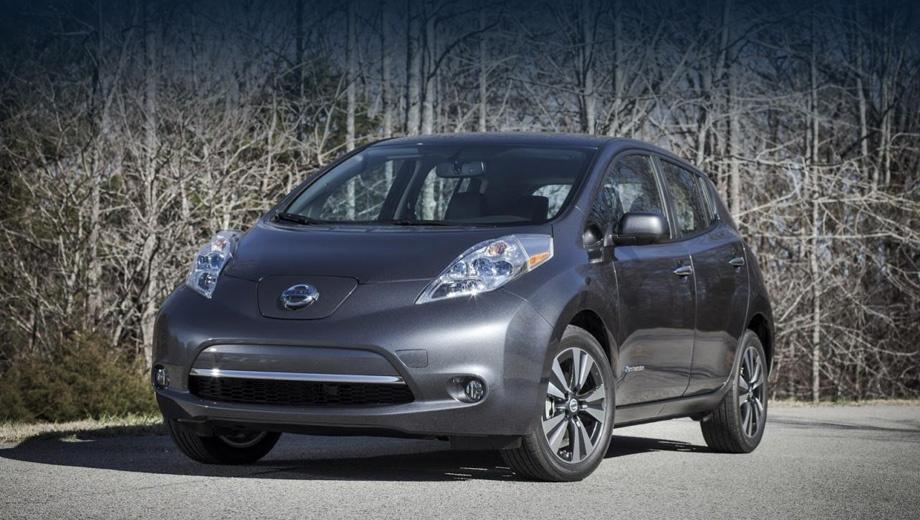 Nissan leaf. С нынешнего года Лист для североамериканского рынка выпускается в США.