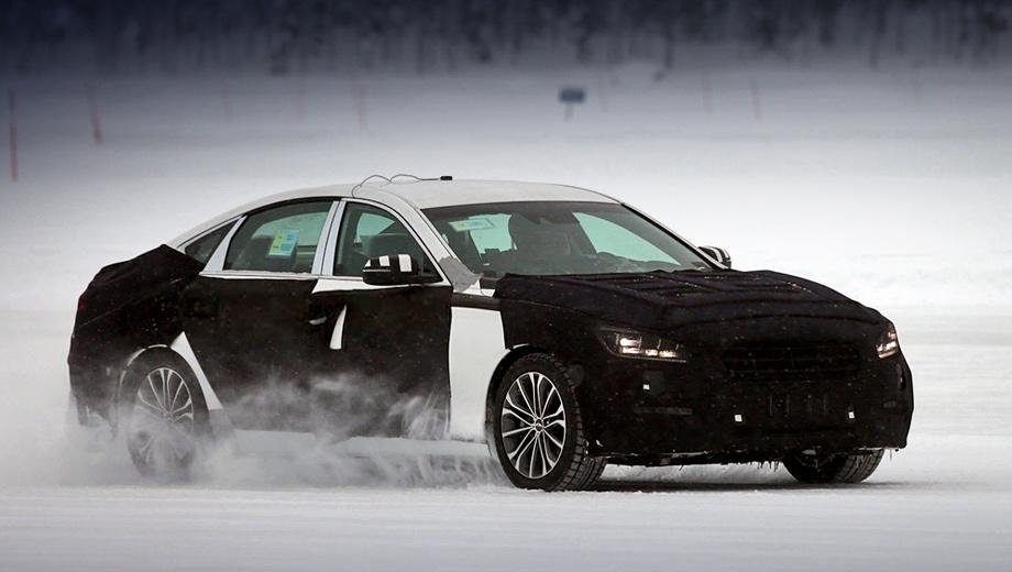 Hyundai genesis. На рынках развитых стран автомобиль будет доступен только с моторами GDI с непосредственным впрыском. На развивающихся рынках можно будет купить версии с менее технологичными двигателями MPI.