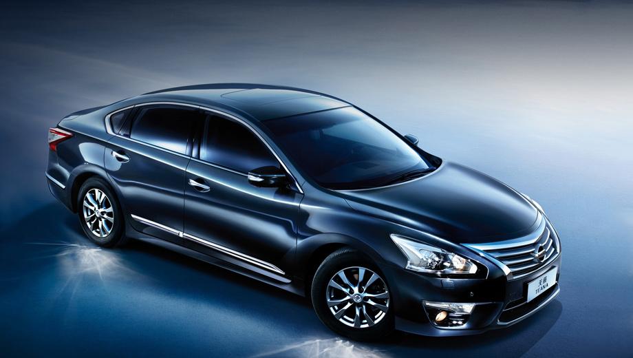 Nissan teana. Предположительно, седан Nissan Teana с мотором 2.5 потребляет в городе 8,7 л бензина на 100 км, а с двигателем V6 3.5 — 10,7 л/100 км.
