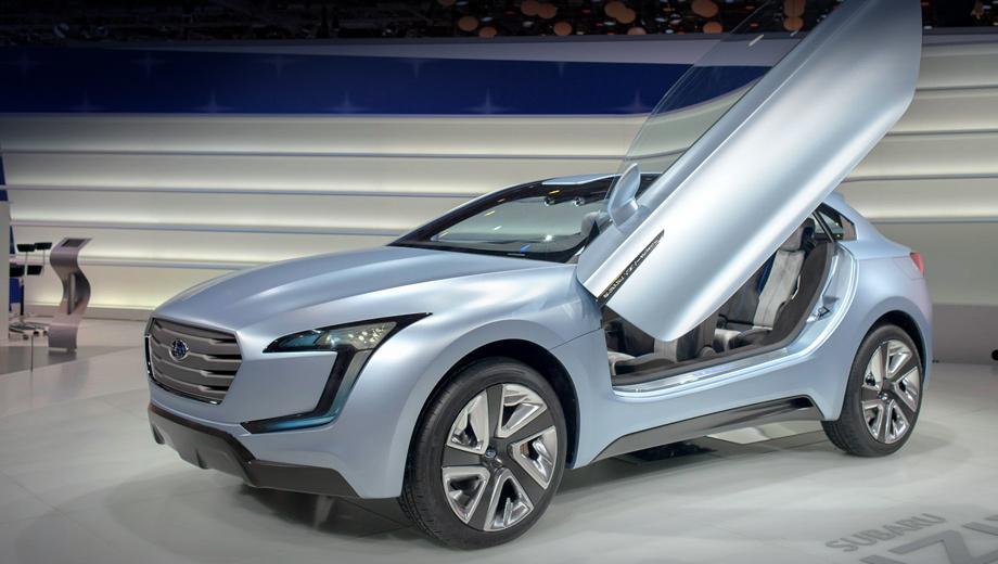 Subaru viziv. Всмотритесь в эти «глаза». Вполне возможно, именно так будут выглядеть будущие модели Subaru.