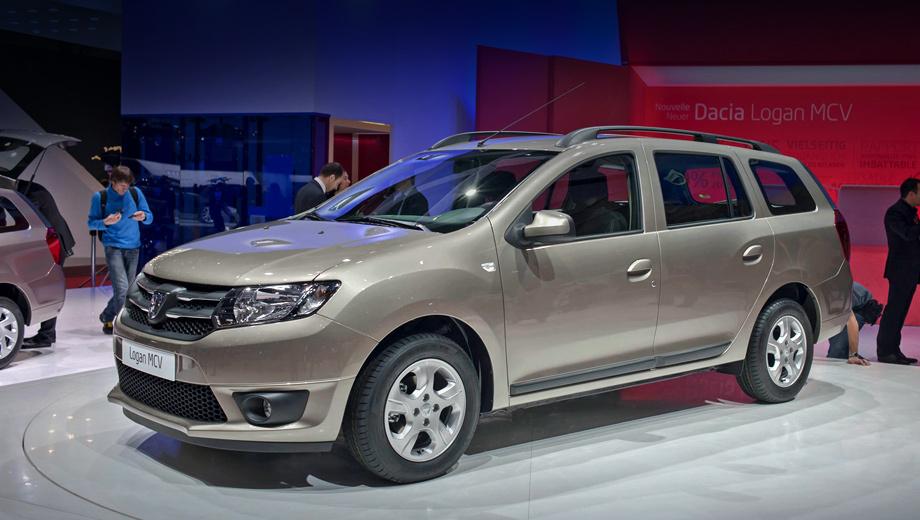 Renault logan mcv,Renault duster. Приставка MCV в названии автомобиля расшифровывается как универсал повышенной вместимости. Так и есть: к полноразмерным местам для пятерых взрослых прилагается багажник объёмом 573 л.