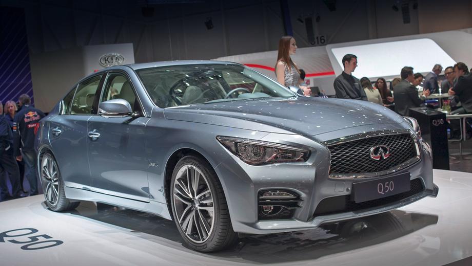 Infiniti q50. Модель Q50 — совместная разработка альянса Renault-Nissan и концерна Daimler.
