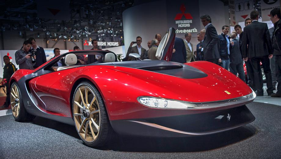 Ferrari pininfarina  sergio. Создатели уверены, что Sergio отличает очень простой и понятный стиль, запоминающийся с первого взгляда, — это ведь интерпретация классической лодки.