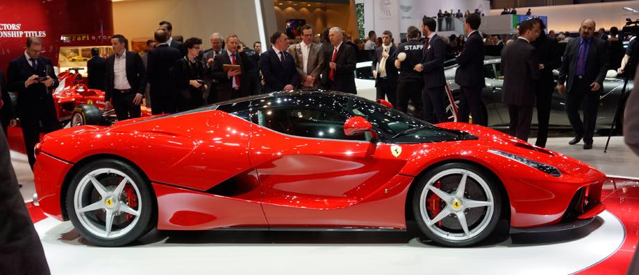 Супергибрид Ferrari LaFerrari на…
