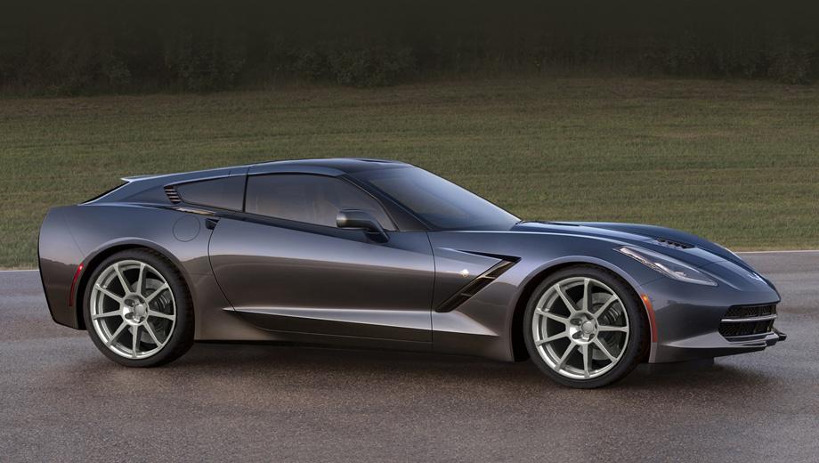 Chevrolet corvette. Достоинством такой версии разработчики считают сочетание уникального стиля с большим внутренним пространством.
