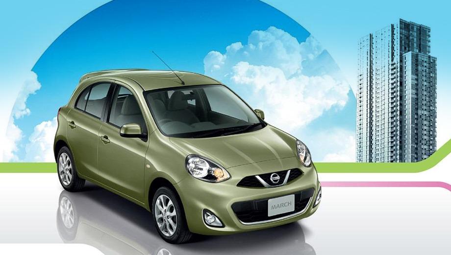 Nissan micra. Напомним, что на некоторых рынках модель Nissan Micra продаётся под именем March.