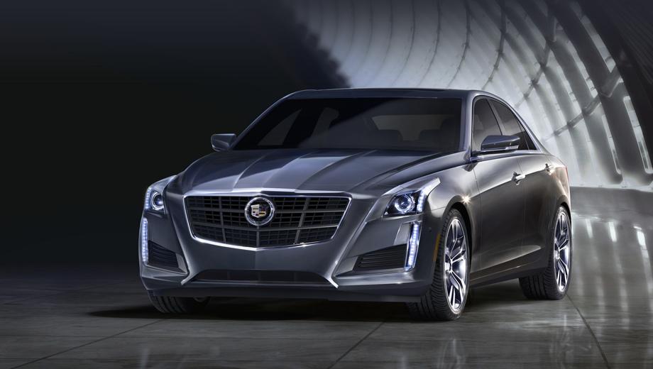 Cadillac cts. Выпуск седана Cadillac CTS третьего поколения начнётся осенью нынешнего года.