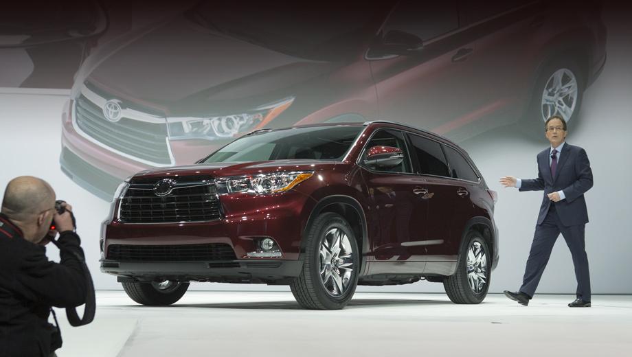 Toyota highlander. Компания-производитель называет внешний вид нового Хайлендера утончённым и динамичным. Так ли это — судить вам.
