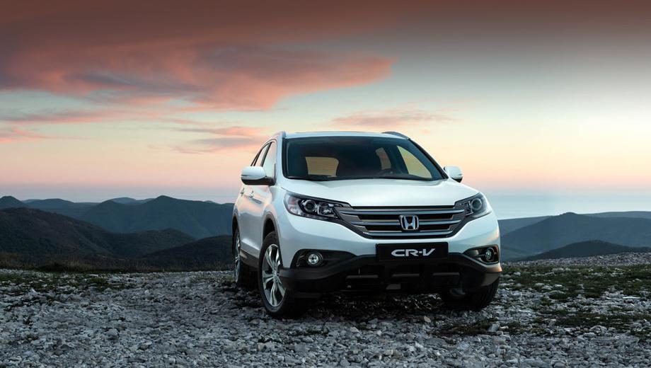 Honda cr-v. Новый агрегат, оснащённый системой изменения фаз газораспределения i-VTEC, потребляет 92-й бензин. Полный привод, система динамической стабилизации, адаптивный электроусилитель руля на этой модели подразумеваются по умолчанию.