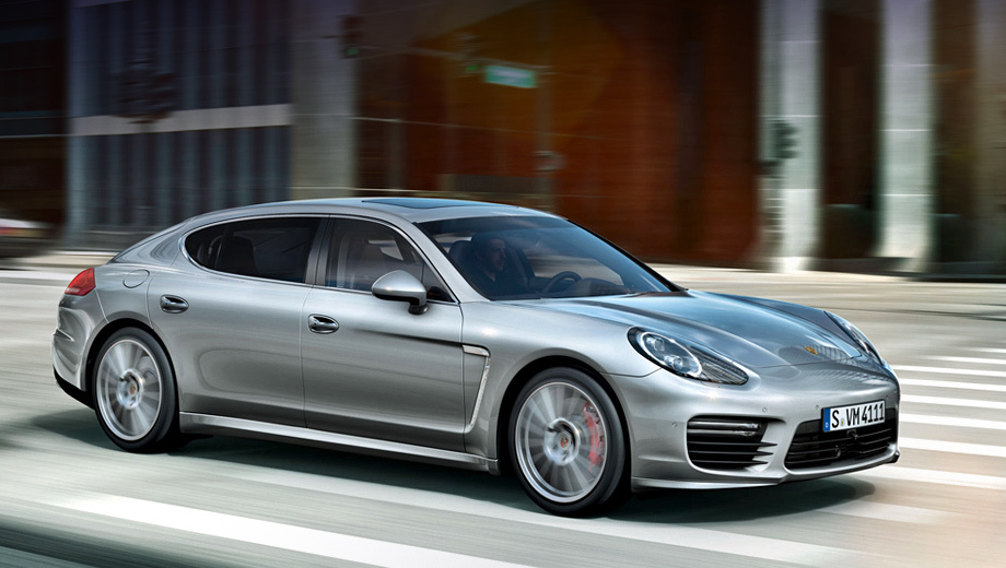 Porsche panamera. Изменения во внешности пятидверки Panamera носят косметический характер.