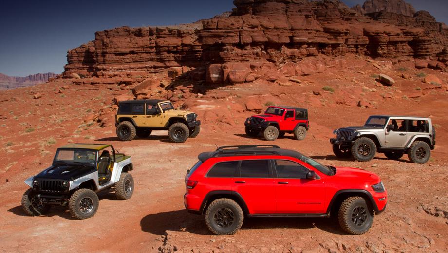 Jeep grand cherokee,Jeep wrangler. Поступят ли эти автомобили в продажу, пока неясно. Вероятнее всего  —   да, но точные сроки не называются.