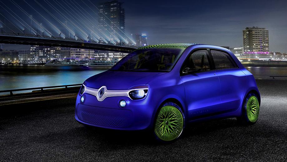 Renault twinz. У концепта нет серийного будущего, это известно уже сейчас. Однако какие-то наработки могут быть использованы при создании нового поколения модели Renault Twingo.