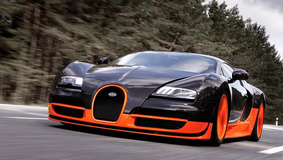 Bugatti veyron,Ssc ultimate aero tt. Bugatti Veyron Super Sport разгоняется до 100 км/ч за 2,6 с. Ходят слухи, что во Франкфурте мы увидим купе Veyron Super, которое «выйдет» из двух секунд в спурте до сотни и сможет разогнаться чуть ли не до 463 км/ч.