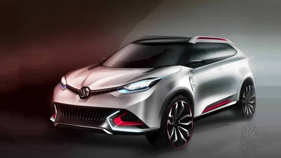 Mg cs. Внешне кроссовер MG CS чем-то напоминает своего главного конкурента — модель Nissan Juke.