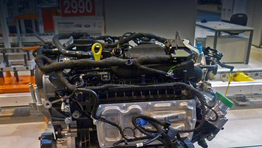 Ford mondeo. В новом моторе использованы технологии, разработанные для младшего двигателя 1.0, такие как интегрированный выпускной коллектор.
