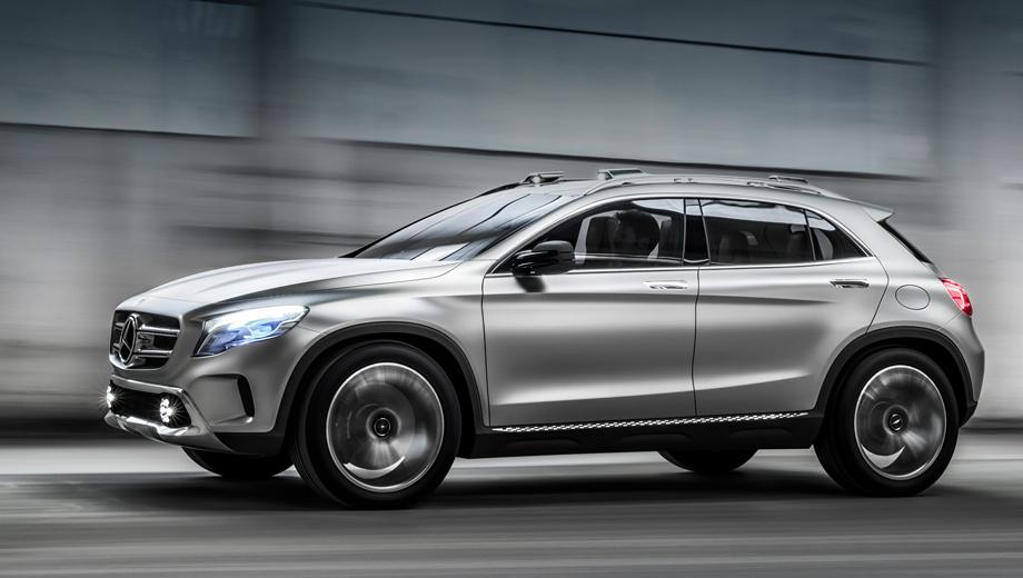 Mercedes gla. Уже сейчас понятно, каким будет серийный паркетник Mercedes GLA.