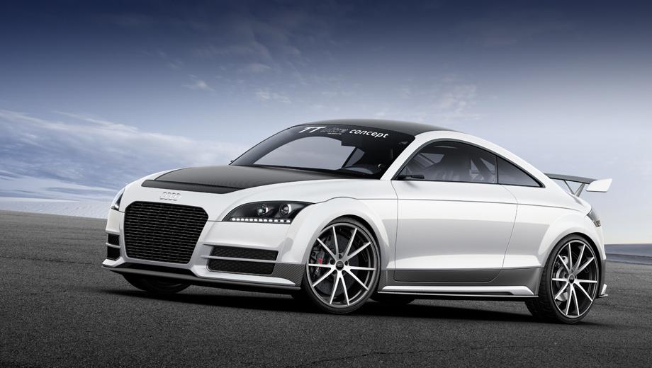 Немцы подготовили к дебюту концепт Audi TT <b>ultra</b> quattro ...