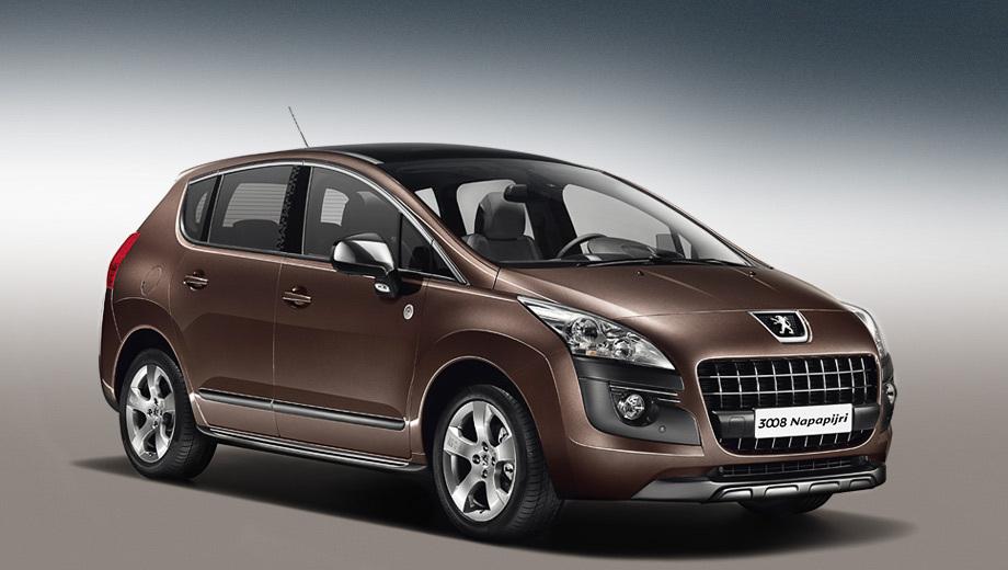 Peugeot 3008. На выбор покупателям предложат три цвета кузова: Noir Perla Nera, Vapor Grey и Rich Oak (на фото).