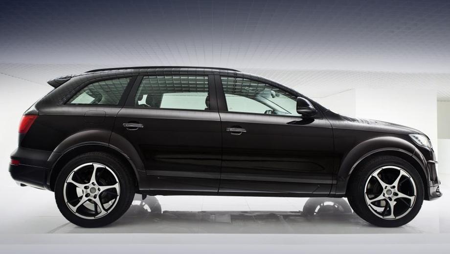 Audi q7. Автомобили в исполнении Sport quattro будут выпущены ограниченным тиражом 500 экземпляров.