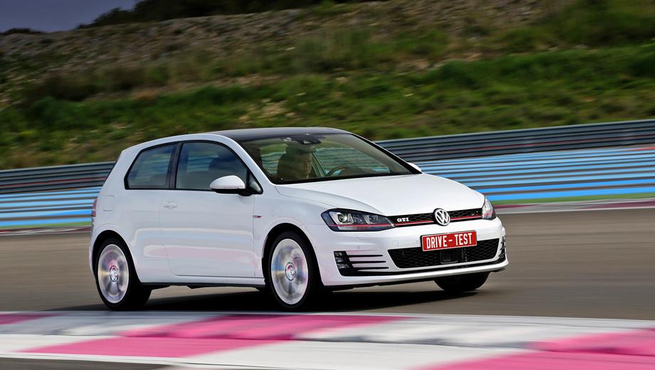 Volkswagen golf gti. Уже потираете руки? Но к нам будут поставлять только 220-сильные версии (с «механикой» или «роботом»), а заказы российские дилеры Фольксвагена начнут принимать только с середины лета 2013 года. Цены озвучат примерно в эти же дни. А вот в Германии продажи начались ещё в начале марта. За базовую машину просят 28 350 евро.