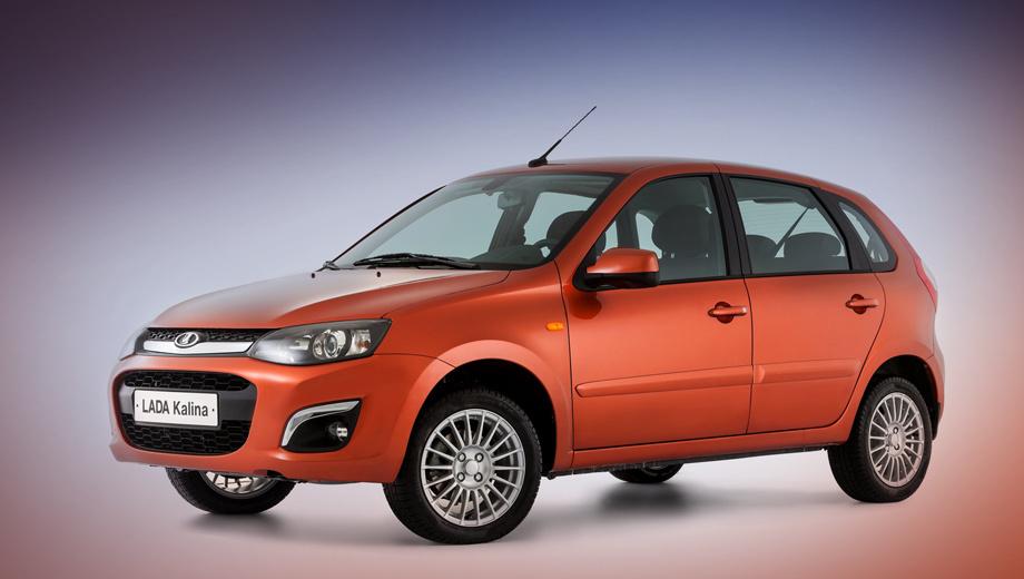 Lada kalina. Продажи новой модели стартуют в июне.