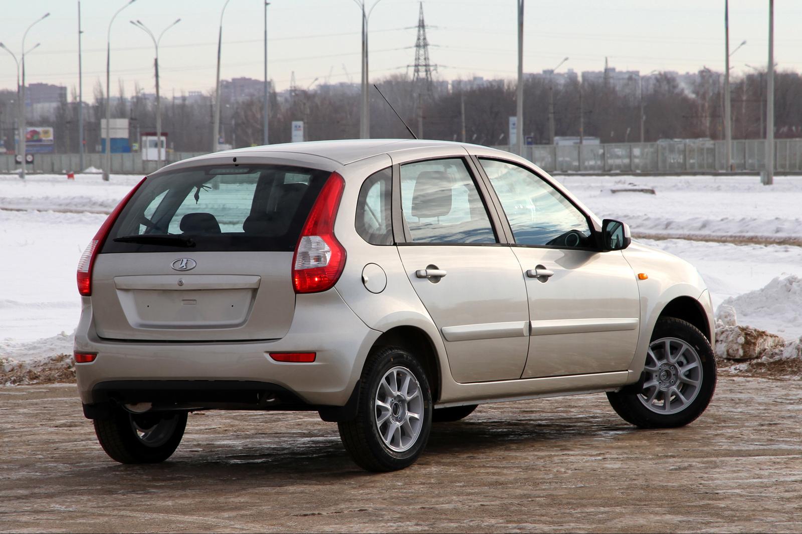 Lada Kalina нового поколения на украинском рынке появится осенью.