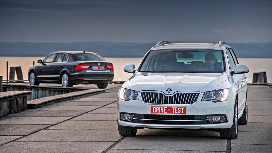 Skoda superb. В России заказы на рестайлинговые Супербы начнут принимать ближе к середине лета 2013 года, но поступать на склад машины будут уже с июня. В гамме останутся моторы 1.8 TSI (152 л.с.), 2.0 TSI (200), 2.0 TDI (140) и V6 3.6 FSI (260). Всем в партнёры назначен преселективный «робот» DSG, но полным приводом комплектуются только машины с «шестёркой» (по умолчанию).