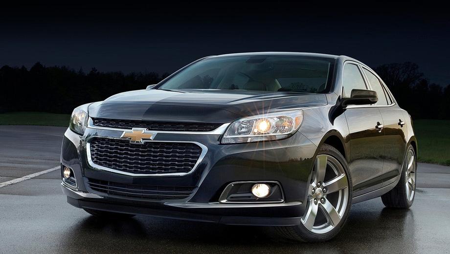 Chevrolet malibu. Работу над ошибками провели меньше чем через год после презентации модели.