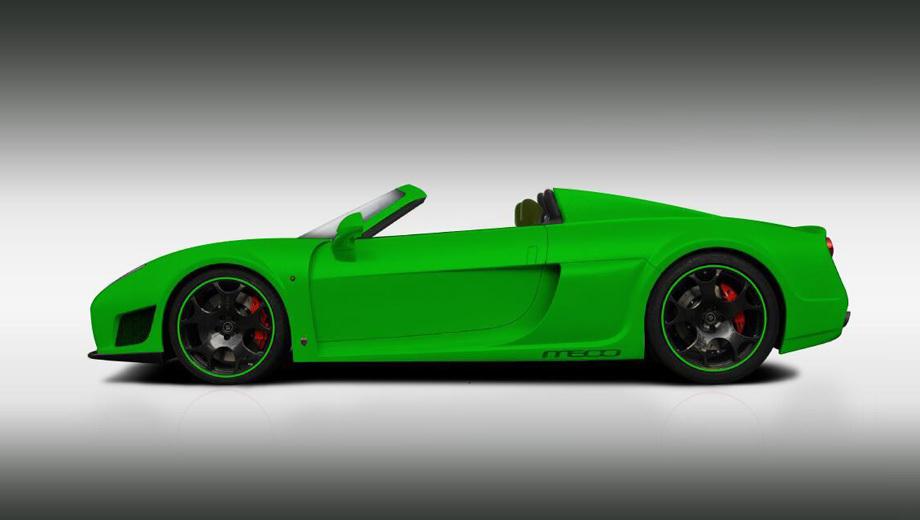 Noble m600,Noble m600 roadster. В мире не так много серийных дорожных машин с открытым верхом и максималкой более 360 км/ч. Теперь может появиться ещё одна.