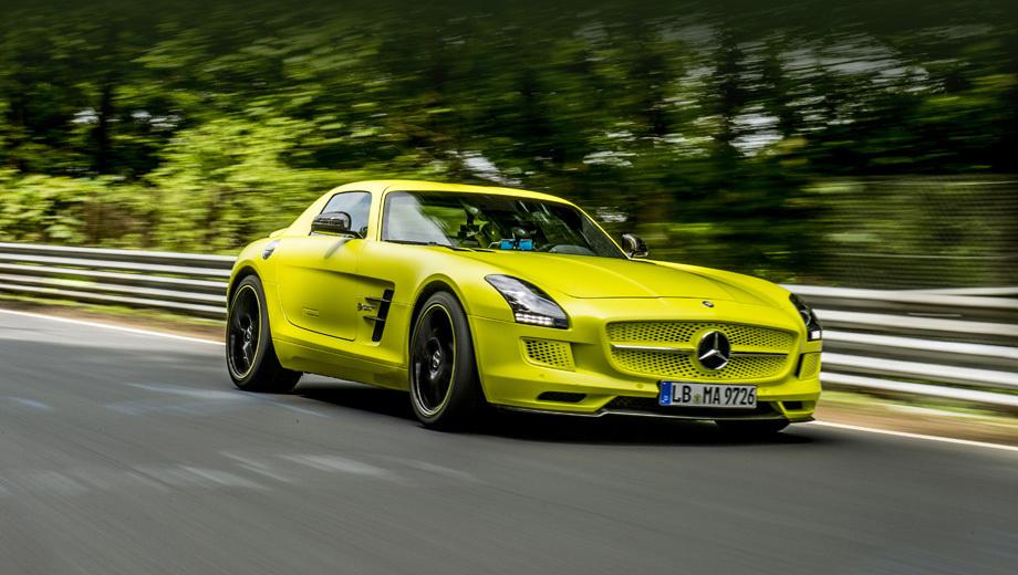 Mercedes sls. В продажу электрический суперкар выйдет в июне 2013 года. Цена в Германии составит 416 500 евро.