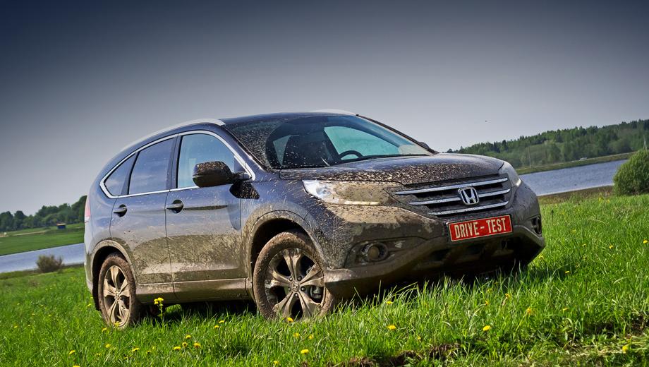 Honda cr-v. Заказы на Хонду CR-V 2.4 принимают с конца марта 2013 года. Покупателям доступны машины только с «автоматами» и в четырёх комплектациях. Цены — от 1 299 000 до 1 529 000 рублей.